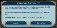 Choose artifact (Civ6)