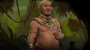 King Jayavarman VII splash (Civ6)