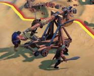 Trebuchet in-game (Civ6)