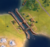 Canal In-Game (Civ6)