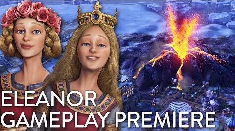 Civilization VI- Gathering Storm - Eleanor Gameplay Premiere (Dev Livestream)