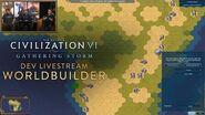 Civilization VI - WorldBuilder Basic Mode (Dev Livestream VOD)