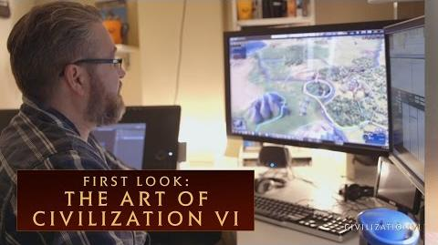 CIVILIZATION VI - First Look The Art of Civilization VI - International Version (With Subtitles)