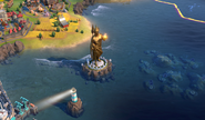 Colossus in-game (Civ6)