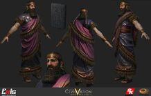 Civ5 Ashurbanipal Render