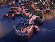 Torre de Belém in-game (Civ6)