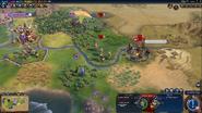 Barbarian Clans Eagle Warrior (Civ6)