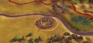 Stonehenge in-game (Civ6)