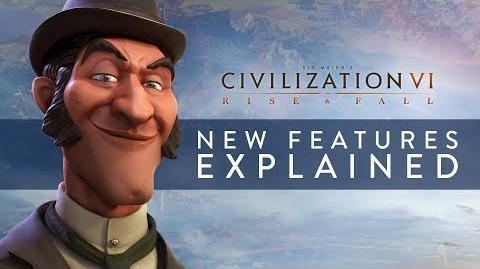Civilization VI Rise and Fall - Nuevas características