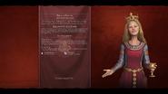 Eleanor of Aquitaine (French) loadscreen (Civ6)