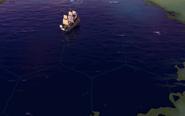 Ocean tile in-game (Civ6)