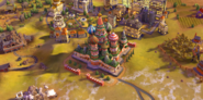 St. Basil's Cathedral in-game (Civ6)