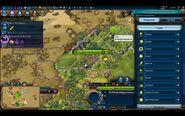 Civilization VI - Devs play as Brazil screenshot - Unit menu