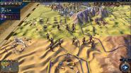 Warrior Monk in-game (Civ6)