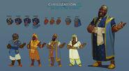 Civ6 Mansa Musa Concept Art 1