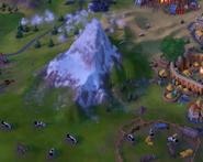 Natural Wonder Matterhorn closeup (Civ6)
