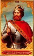 Frederick Barbarossa Portrait