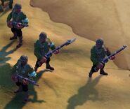 Infantry - South American (Civ6)