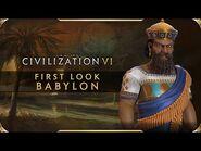 Civilization VI - First Look- Babylon - Civilization VI - New Frontier Pass
