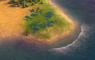 Marsh tile in-game (Civ6)