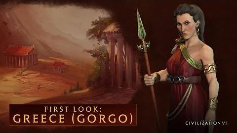 CIVILIZATION VI - First Look Greece (Gorgo) - International Version (With Subtitles)-0