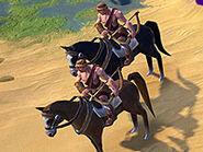 Barbarian Horse Archer (Civ6)