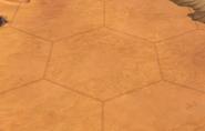 Desert tile in-game (Civ6)