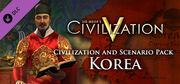 Civilization and Scenario Pack Korea DLC (Civ5).jpg