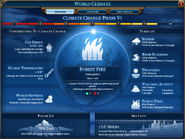 World Climate overview phase VI (Civ6)