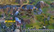 Machu Picchu in-game (Civ6)