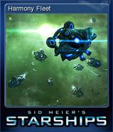 Steam trading card small Harmony Fleet (Starships)