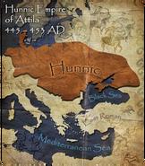 Huns map (Civ5)