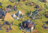 Pyramids in-game (Civ6)