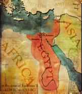 Egypt map (Civ5)