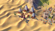 Nubian Pyramid in-game (Civ6)