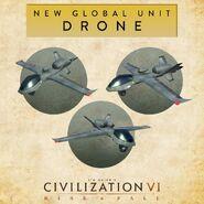 Drone Civ 6 Promo image
