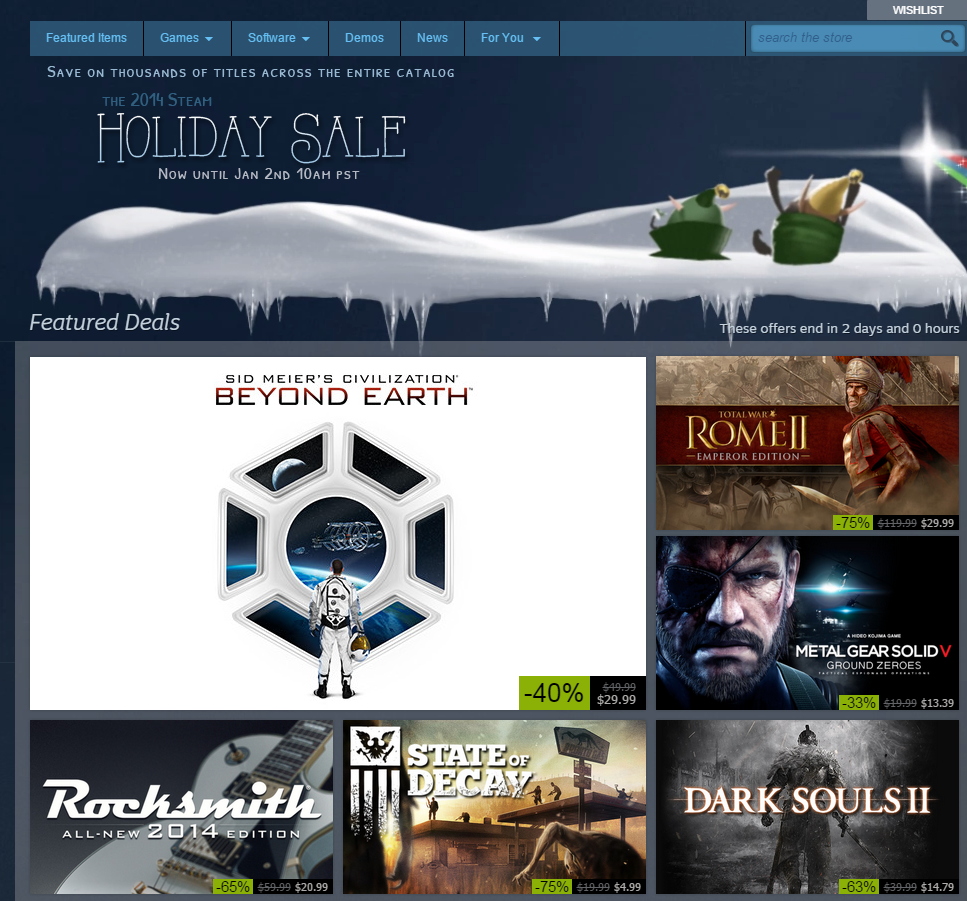 Davehinkle/Beyond Earth is 40% off on Steam right now