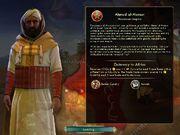 Ahmad al-Mansur pantalla de càrrega (Civ5) .jpg
