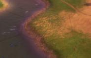 Floodplains tile in-game (Civ6)