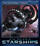 Steam trading card small The Doomsday Problem (Starships)