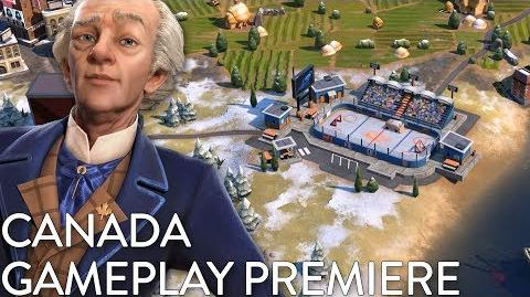 Civilization VI- Gathering Storm - Canada Gameplay Premiere (Dev Livestream)