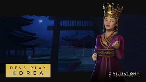 Civilization VI- Rise and Fall - FIRST GAMEPLAY FOOTAGE (Devs Play Korea)