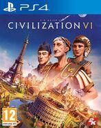 Civilization 6 for PS4 boxart (Civ6)