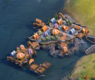 Water Park in game (Civ6)