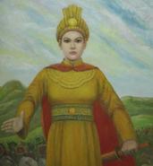 Bà Triệu Painting