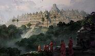 Borobudur completion art (Civ5)