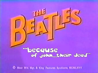 The Beatles Cartoon Lost Episode Cjaymarch Wiki Fandom
