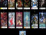 Cartes de Tarot de X