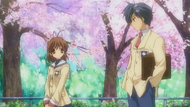 On the Hillside Path Where the Cherry Blossoms Flutter Shot.png
