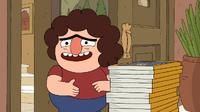 Clarence episodio - La mochila de Belson - 086